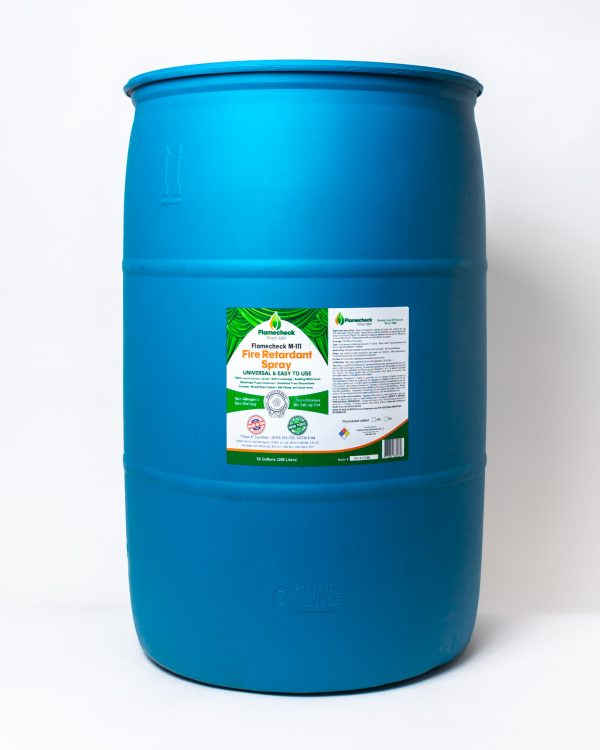 55 Gallon Drum of Flamecheck M-111 Fire Retardant Spray